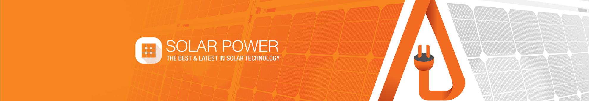 Solar Power banner