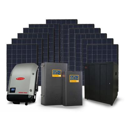 Selectronic + Fronius + Phono 9.9kW Solar + 27.6kW Battery Off Grid