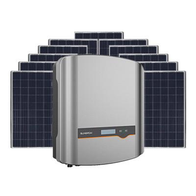 Sungrow + Phono 6.6kW Solar System