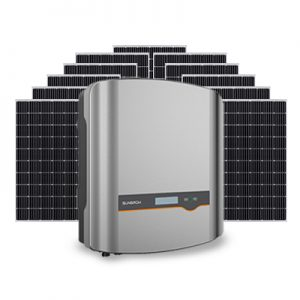 New Sungrow Crystal 5kW inverter and Longi 300 watt Mono Perc 6.6kW solar system