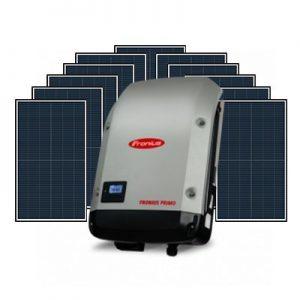Fronius Primo 5kW Inverter and Longi Hi-MOX 350w 6.6kW Solar System
