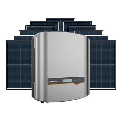NEW Sungrow 5kW inverter and Longi Hi-MOX 350w 6.6kW solar system