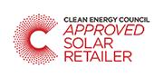 CEC Approved Solar Retailer logo